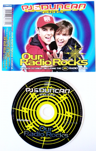 PJ & Duncan AKA ‎- Our Radio Rocks (CD Single) (VG+/EX-)